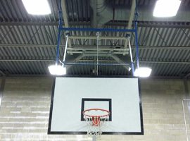 Convert Existing Basketball Goals to Electric Operation
