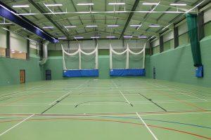 Indoor cricket nets