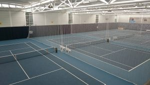 Indoor tennis separators