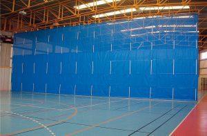 Sports hall divider