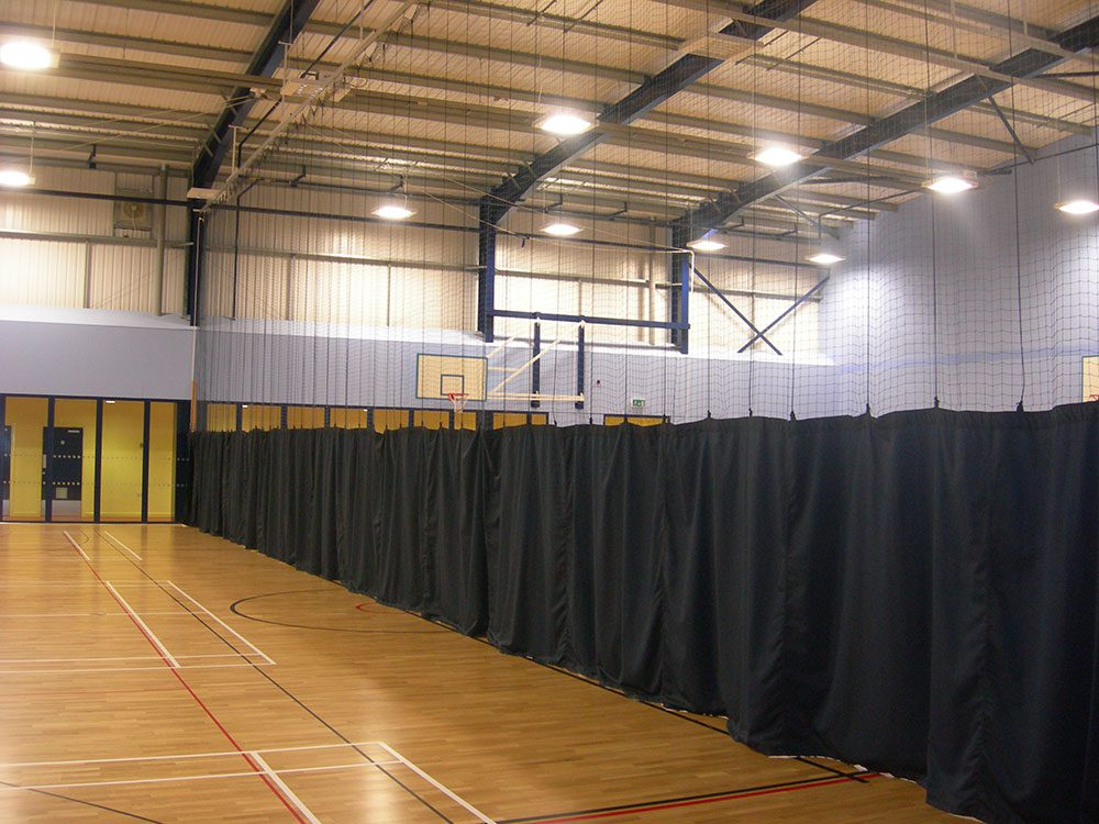 Indoor Sports Hall Dividing Curtains