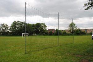 Ball stop netting