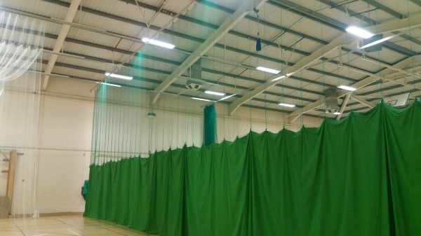 Sports hall division nets /Sports hall netting/Sports hall curtains