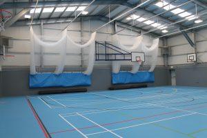 Sports cricket netting