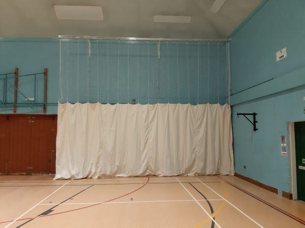 Bowlers end protection net