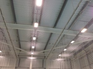 Roof protection netting