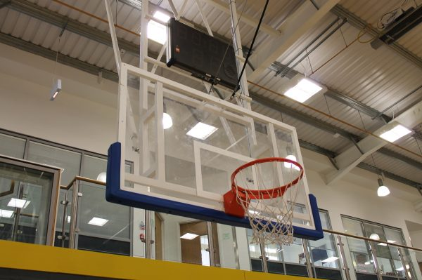 Matchplay basketball backboard padding