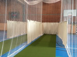 Roll out cricket matting