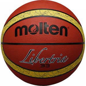 3X3 LIBERTRIA RUBBER BASKETBALL