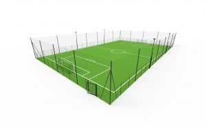 7-a-side football pitch