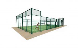 Padel court enclosure/Outdoor arenas