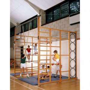 Double and Fold-over climbing frames / Climbing equipment / gymnastic equipment / spectrum climbing frames