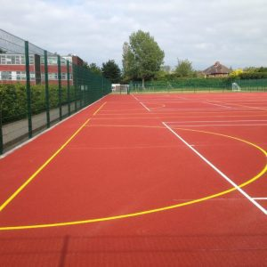 Sports surface system/ Polymeric Rubber surface