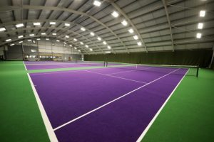Tufted surfaces/ High durability sports surface