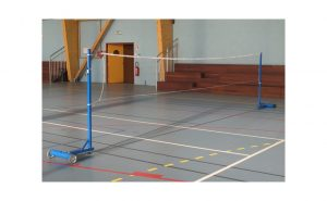 Leisure badminton posts to be ballasted