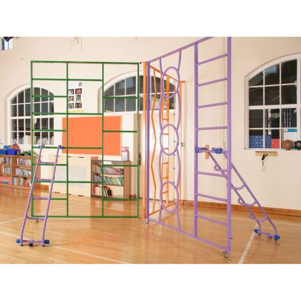 rainbow frame / gymnastic equipment / climbing frame