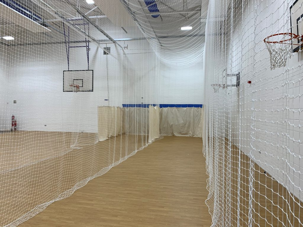 Sports hall refurbishment