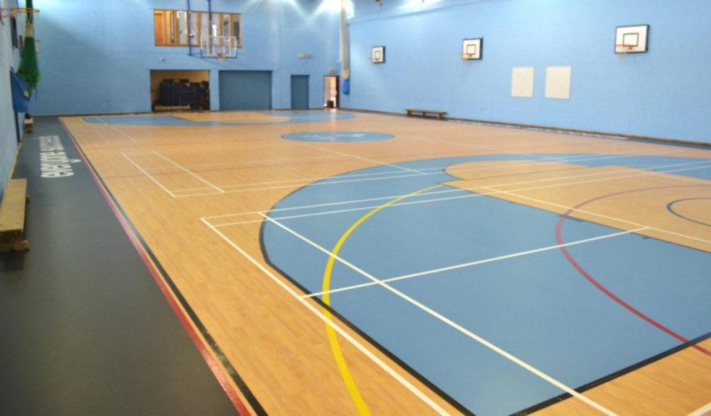 sports hall renovations Uk